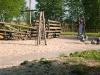 der Spielplatz in Mönkebude am Strand