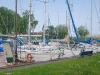 der Seegelhafen von Mönkebude