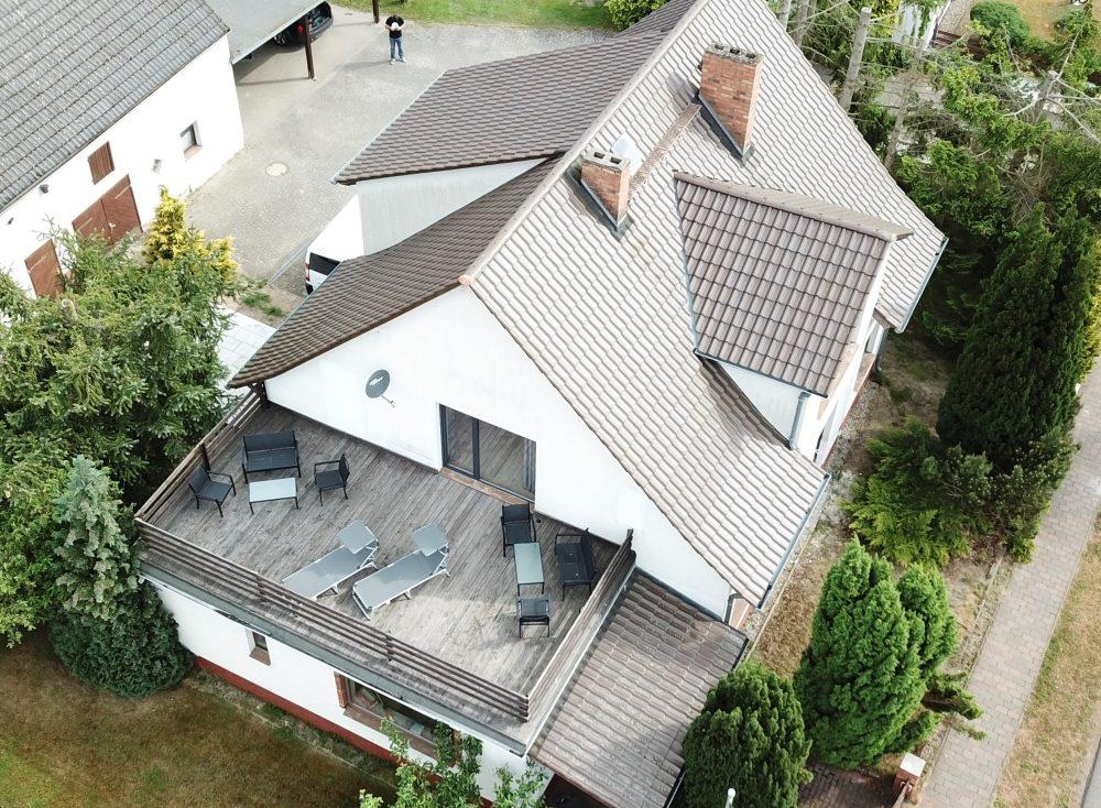 Herrenhaus Obergeschoss Terasse