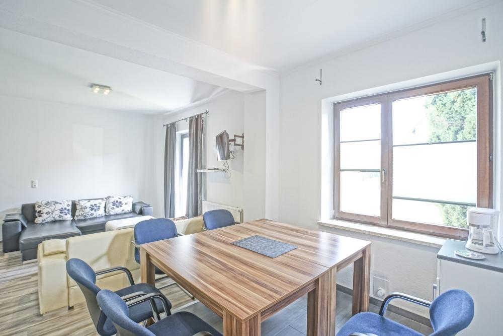 Ferienwohnung Herrenhaus EG Mönkebude Essbereich