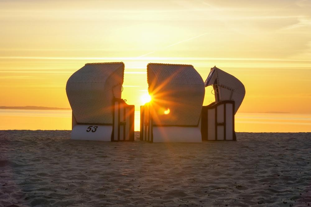der Mönkebuder Strand am Stettiner Haff